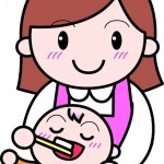 赤ちゃんの歯磨きはいつからするの?ガーゼから始めよう。