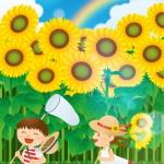 子供が先生に出した暑中見舞いの文例!手作りで素敵と大好評!